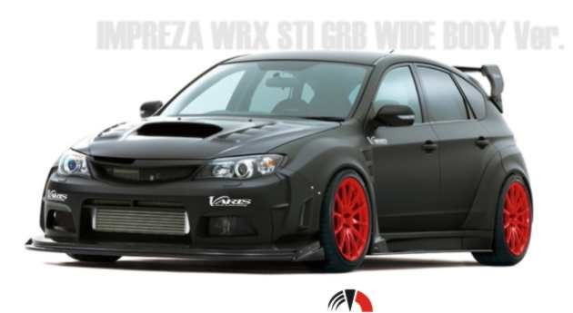 varis wrc wide fender kit impreza sti 08 kaufen maxspeed motorsport. Black Bedroom Furniture Sets. Home Design Ideas