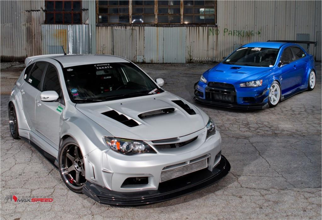 Used Subaru Wrx Sti For Sale >> Wide Body Kit Subaru sti GR VerbraiterunsKit VS Style ...