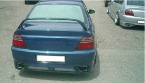 REAR UNDERSPOILER MODENA HONDA ACCORD R