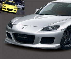 frontbumper mazdaspeed style r mazda rx8 kaufen maxspeed motorsport. Black Bedroom Furniture Sets. Home Design Ideas