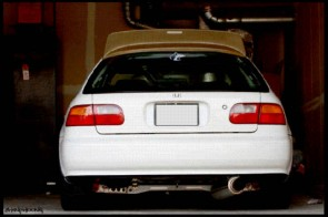 RACING EXHAUST MAXSPEED CIVIC