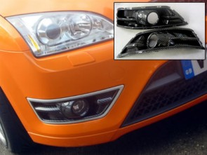 Focus ST Front Carbon Effect Bumper trims Pair