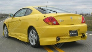 REAR BUMPER BLUE HYUNDAI COUPE