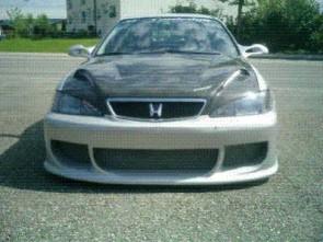 Front Bumper Accord R