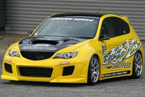 SUBARU 2008 BODY KIT