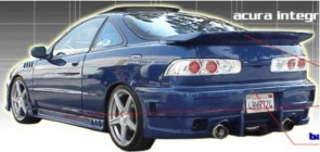 Rear Bumper EVO 4