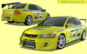 FULL BODY KIT EVO 7