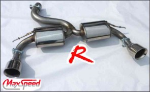 FOCUS RS MK II MAXSPEED EXHAUST R1