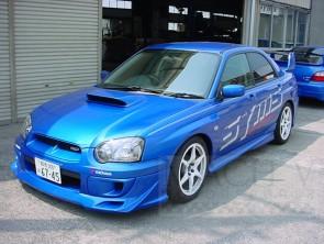 SYMS SPOILER WRX 2003/04 STI