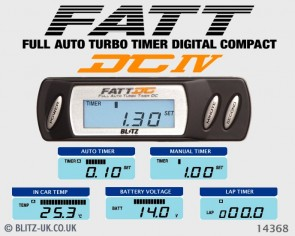 Blitz Turbo Timer DCIV FATT