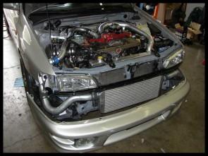 GT300 Motorleistungssteigerung Impreza GT