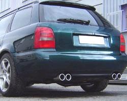 MAXSPEED EXHAUST AUDI A4 TURBO L+R