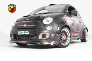 500 ABARTH CARBON SPOILER