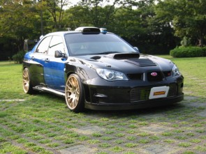 WRC FULL BODY KIT CARBON IMPREZA GDB-F