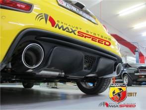 Maxspeed R1 Auspuffanlage Fiat 500/595/695