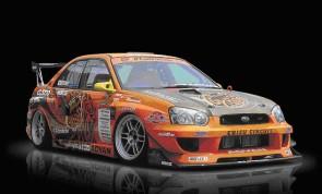 M Sports Body Kit WRX STI Wide Body GT300