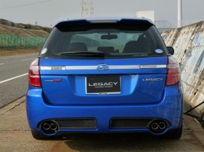 Heckstossstange Subaru Legacy BP/BL