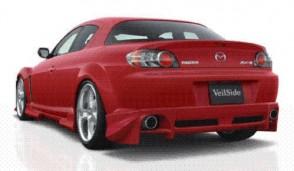 REAR Bumper veilside RX8
