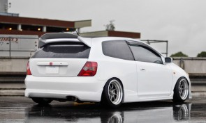 Rear Top Spoiler Civic R
