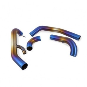 Titanium Intercooler Piping Systeme