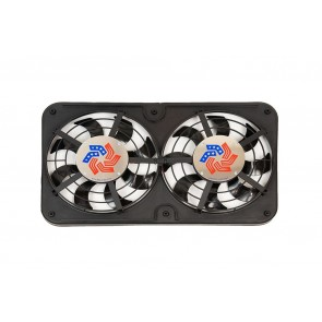 "Flex-A-Lite 12"" Shrouded Puller Fan Lancer Evo 8/9"