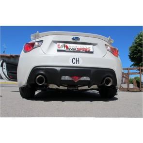 Auspuffanlage Catback Maxspeed Subaru BRZ