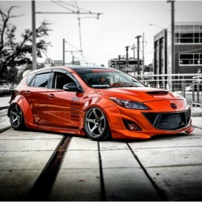 Super Wide Body Kit Mazda MPS3 BL 2010/13