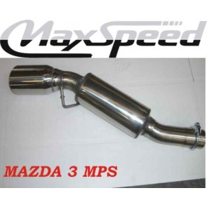 MAXSPEED EXHAUST MAZDA 3 MPS