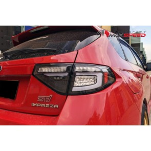Black 3D Tail Light Dynamik Signal 08/14
