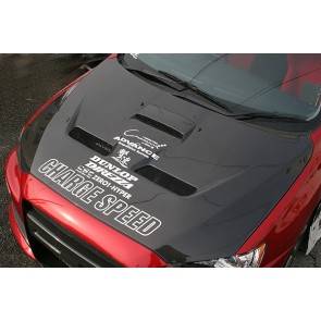 Chargespeed Carbon Hood Lancer EVO X