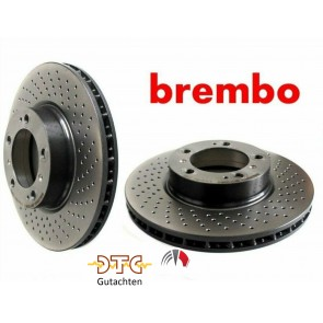 Brembo Xtra Bremsscheiben Vorne STI 01/15