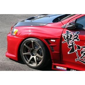 Mitsubishi Lancer Evo X Front Fender Chargespeed