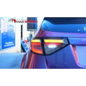 Clear Red Bar Led Tail Light Subaru GR 08/14