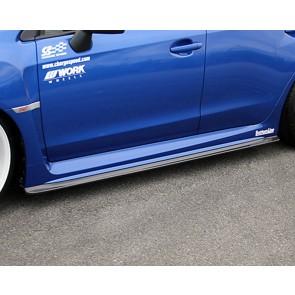 Seitenschwellen Carbon Botton Line Subaru 2008 GRB