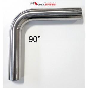 Rohrbogen 90° Chromstahl 304
