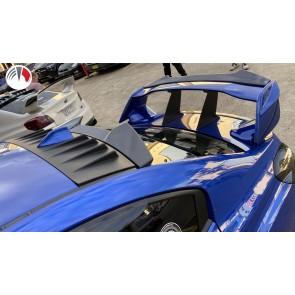 Carbon Fibre V2 Rear Window Visor Subaru STI 2015/20
