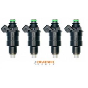 DeatschWerks Injectors Set Mitsubishi EVO  4G63T