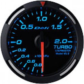 BOOST GAUGES DEFI BLUE RACE