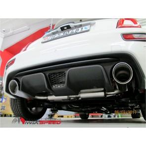 Maxspeed Auspuff ESD Fiat 500 Abarth