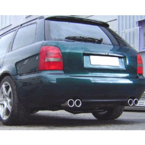 MAXSPEED EXHAUST AUDI A4 TURBO L+R