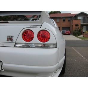 Smoked Tail Light Nissan Skyline 33 RB26