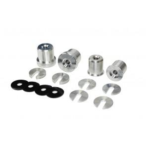 Performance Aluminum Subframe Bushing Inserts -350Z