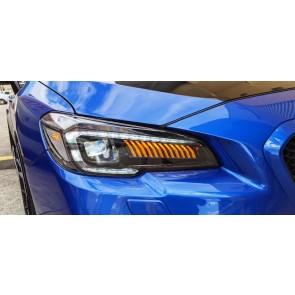3D LED DRL Projector Headlight Subaru STI/Levorg