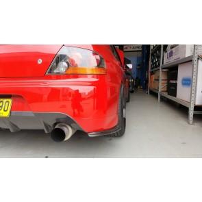 Rear Carbon Bumper Extension Evo 8/9