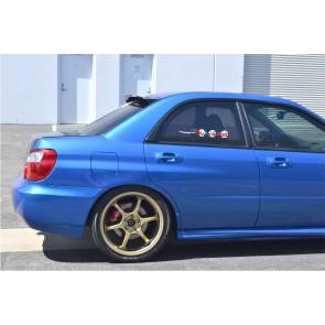 Heckscheibespoiler Subaru wrx sti 2003/07