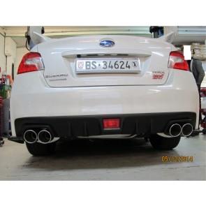 MAXSPEED Auspuffanlage  Impreza STI Sedan 2014+