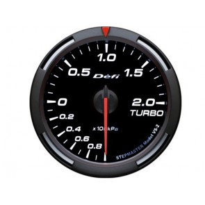 DEFI White Race  Turbo Boost Gauge 52mm