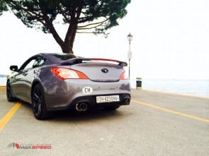 Maxspeed Cat-Back Dual R1 Genesis Coupe 08-12 2.0T