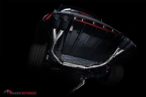 Maxspeed Auspuffanlage Honda Civic R 15+ FK2