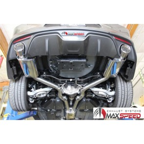 Exhaust Maxspeed Ford Mustang